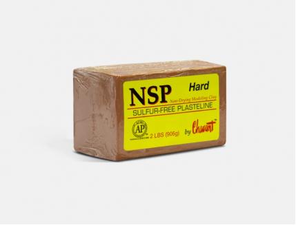 Скульптурный пластилин NSP Chavant Hard - изображение 5 - интернет-магазин tricolor.com.ua