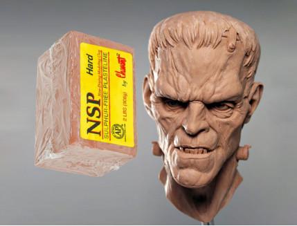 Скульптурный пластилин NSP Chavant Hard - изображение 2 - интернет-магазин tricolor.com.ua