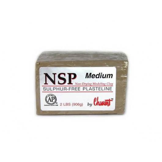 Скульптурный пластилин NSP Chavant Medium - интернет-магазин tricolor.com.ua