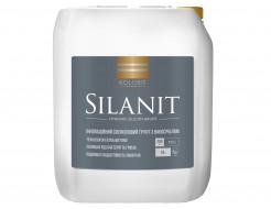 Грунт силиконовый с наносеребром Kolorit Silanit для наружных и внутренних работ