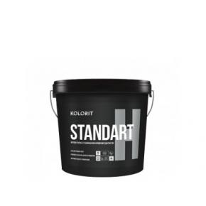 Краска интерьерная Kolorit Standart H матовая база А белая