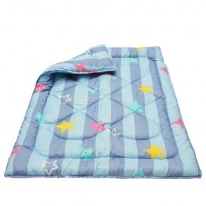 Одеяло Dotinem Чаривный сон Синтепоновое 110х140 детское синее - изображение 2 - интернет-магазин tricolor.com.ua