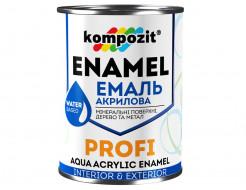 Эмаль акриловая Profi Kompozit черная (АКЦИЯ!)