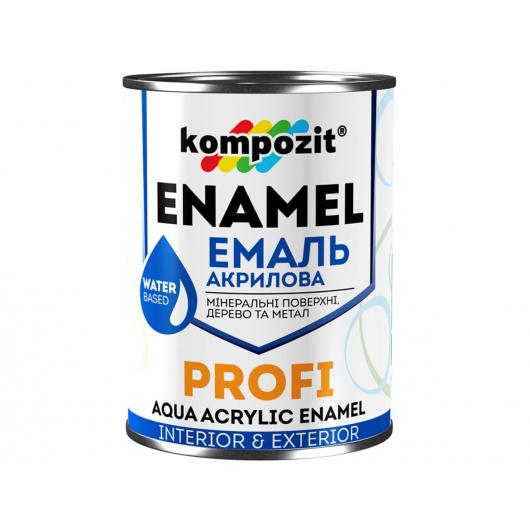Эмаль акриловая Profi Kompozit белая (АКЦИЯ!)