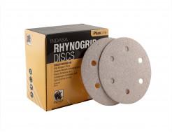 Диски на 6 отверстий Rhynogrip Plus Line Indasa 125 мм P80 - изображение 3 - интернет-магазин tricolor.com.ua