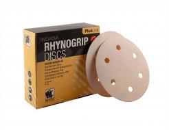 Диски на 6 отверстий Rhynogrip Plus Line Indasa 125 мм P80 - изображение 2 - интернет-магазин tricolor.com.ua