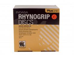 Диски на 6 отверстий Rhynogrip Plus Line Indasa 125 мм P80 - интернет-магазин tricolor.com.ua
