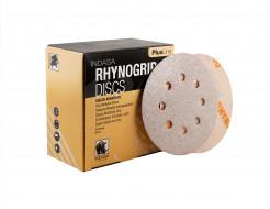 Диски на 8 отверстий Rhynogrip Plus Line Indasa 125 мм P80 - изображение 2 - интернет-магазин tricolor.com.ua