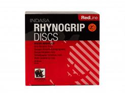 Диски на 8 отверстий Rhynogrip Red Line Indasa 125 мм P100 - интернет-магазин tricolor.com.ua