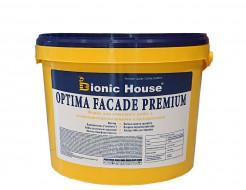 Краска фасадная Bionic House Optima Facade premium водоотталкивающая белая матовая