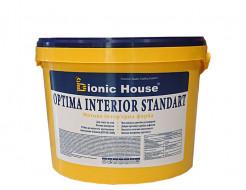 Краска интерьерная Bionic House Optima Interior standard для стен и потолков белая матовая