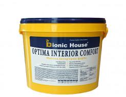 Краска интерьерная Bionic House Optima Interior comfort устойчивая к мытью белая матовая