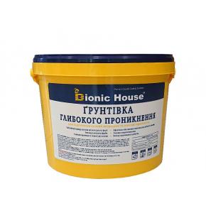 Грунт акриловый универсальный Bionic House Interior-facade universal без растворителей