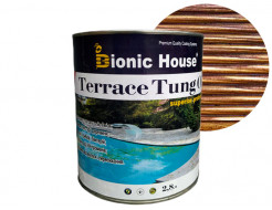 Масло террасное Bionic House Terrace Tung oil с тунговым маслом Ирис - интернет-магазин tricolor.com.ua