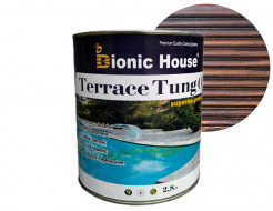 Масло террасное Bionic House Terrace Tung oil с тунговым маслом Палисандр - интернет-магазин tricolor.com.ua