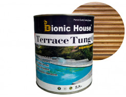 Масло террасное Bionic House Terrace Tung oil с тунговым маслом Сосна - интернет-магазин tricolor.com.ua