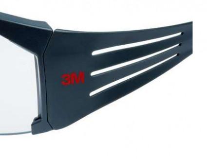 Очки SecureFit 3М SF601RAS-EU прозрачные с покрытием от царапин RAS линза поликарбонатная - изображение 3 - интернет-магазин tricolor.com.ua