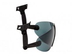 Очки 3M V9G встроенные серые Hard Hat Integrated с защитой от царапин и запотевания - изображение 5 - интернет-магазин tricolor.com.ua