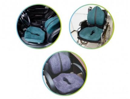 Подушка ортопедическая Correct Shape Max comfort для сидения 46х42/10 Графит - изображение 4 - интернет-магазин tricolor.com.ua
