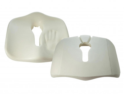 Подушка ортопедическая Correct Shape Max comfort для сидения 46х42/10 Графит - изображение 3 - интернет-магазин tricolor.com.ua