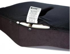 Подушка ортопедическая Correct Shape Max comfort для сидения 46х42/10 Графит - изображение 7 - интернет-магазин tricolor.com.ua