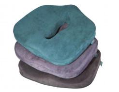 Подушка ортопедическая Correct Shape Max comfort для сидения 46х42/10 Графит - изображение 6 - интернет-магазин tricolor.com.ua