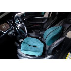 Подушка ортопедическая Correct Shape Max comfort для сидения 46х42/10 Изумрудная - изображение 8 - интернет-магазин tricolor.com.ua