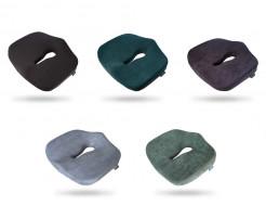Подушка ортопедическая Correct Shape Max comfort для сидения 46х42/10 Серая - изображение 2 - интернет-магазин tricolor.com.ua
