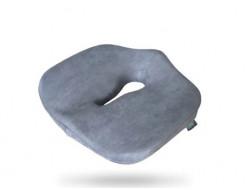 Подушка ортопедическая Correct Shape Max comfort для сидения 46х42/10 Серая - интернет-магазин tricolor.com.ua
