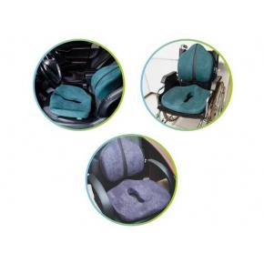 Подушка ортопедическая Correct Shape Max comfort для сидения 46х42/10 Оливковая - изображение 3 - интернет-магазин tricolor.com.ua