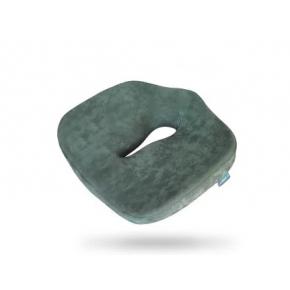 Подушка ортопедическая Correct Shape Max comfort для сидения 46х42/10 Оливковая - интернет-магазин tricolor.com.ua