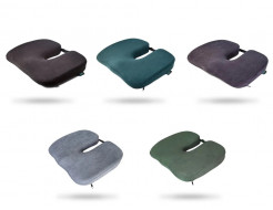 Подушка ортопедическая Correct Shape Model 1 для сидения 45х38/6 Изумрудная - изображение 3 - интернет-магазин tricolor.com.ua