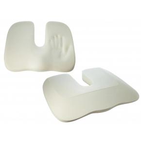 Подушка ортопедическая Correct Shape Model 1 для сидения 45х38/6 Изумрудная - изображение 5 - интернет-магазин tricolor.com.ua