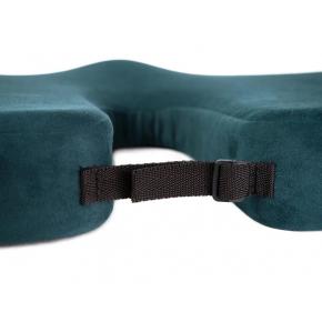 Подушка ортопедическая Correct Shape Model 1 для сидения 45х38/6 Изумрудная - изображение 4 - интернет-магазин tricolor.com.ua