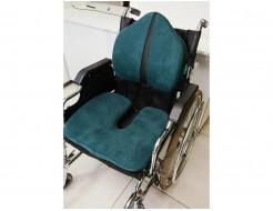 Подушка ортопедическая Correct Shape Model 1 для сидения 45х38/6 Изумрудная - изображение 6 - интернет-магазин tricolor.com.ua