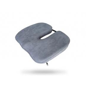 Подушка ортопедическая Correct Shape Model 1 для сидения 45х38/6 Серая - интернет-магазин tricolor.com.ua