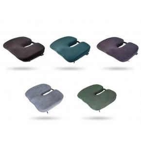 Подушка ортопедическая Correct Shape Model 1 для сидения 45х38/6 Серая - изображение 3 - интернет-магазин tricolor.com.ua