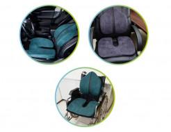 Подушка ортопедическая Correct Shape Model 1 для сидения 45х38/6 Серая - изображение 4 - интернет-магазин tricolor.com.ua
