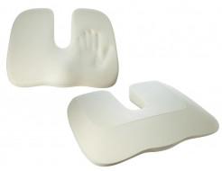 Подушка ортопедическая Correct Shape Model 1 для сидения 45х38/6 Серая - изображение 5 - интернет-магазин tricolor.com.ua