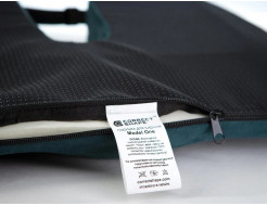 Подушка ортопедическая Correct Shape Model 1 для сидения 45х38/6 Серая - изображение 6 - интернет-магазин tricolor.com.ua