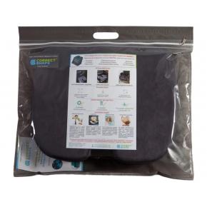 Подушка ортопедическая Correct Shape Model 1 для сидения 45х38/6 Серая - изображение 7 - интернет-магазин tricolor.com.ua