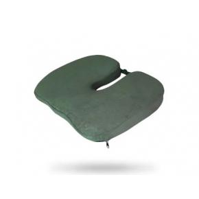 Подушка ортопедическая Correct Shape Model 1 для сидения 45х38/6 Оливковая - интернет-магазин tricolor.com.ua