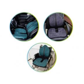 Подушка ортопедическая Correct Shape Model 1 для сидения 45х38/6 Оливковая - изображение 4 - интернет-магазин tricolor.com.ua