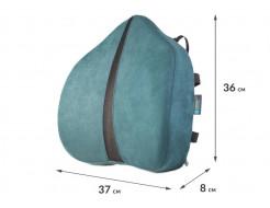 Подушка ортопедическая Correct Shape Correct line max под поясницу 37х36/8 Графит - изображение 2 - интернет-магазин tricolor.com.ua