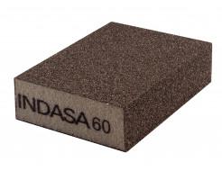 Четырехсторонний абразивный блок Indasa Abrasive Block 98x69x26 мм P60 - интернет-магазин tricolor.com.ua
