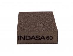 Четырехсторонний абразивный блок Indasa Abrasive Block 98x69x26 мм P60 - изображение 3 - интернет-магазин tricolor.com.ua