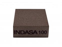 Четырехсторонний абразивный блок Indasa Abrasive Block 98x69x26 мм P100 - изображение 3 - интернет-магазин tricolor.com.ua