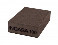 Четырехсторонний абразивный блок Indasa Abrasive Block 98x69x26 мм P100 - интернет-магазин tricolor.com.ua