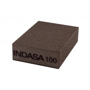 Четырехсторонний абразивный блок Indasa Abrasive Block 98x69x26 мм P100
