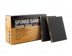 Двухсторонний абразивный блок Indasa Abrasive Sponge Wood 98x122x13 мм P100 - интернет-магазин tricolor.com.ua